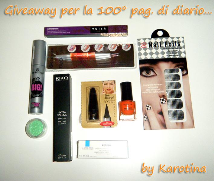 karotina-giveaway-100-pag-di-diario-2012