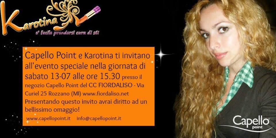 Invito-karotina-karotina85-evento-incontro-capellopoint-capello-point