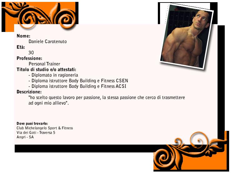 scheda personal trainer