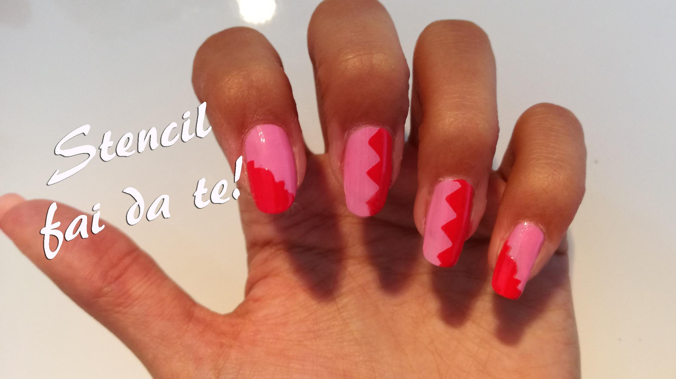 2016 11 07 stencil fai da te per nailart karotina nails