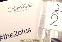 2017 02 23 ck2 piramide olfattiva rubrica profumi calvin Klein fragranza karotina opinione review