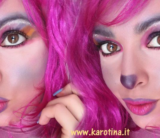 2017 02 23 unicorn rainbow tutorial make up carnevale unicorno trucco