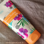 2017 05 27 review shower peeling tropical summer cien karotina recensione