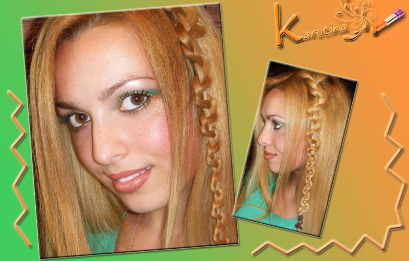 30 03 2013 hair karotina acconciatura treccia zig zag