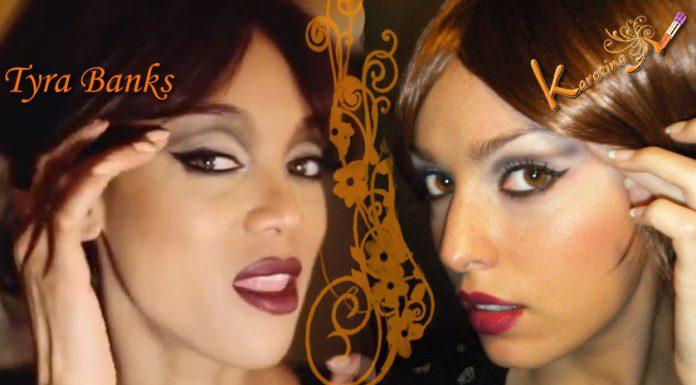 tyra banks makeup trucco star-karotina