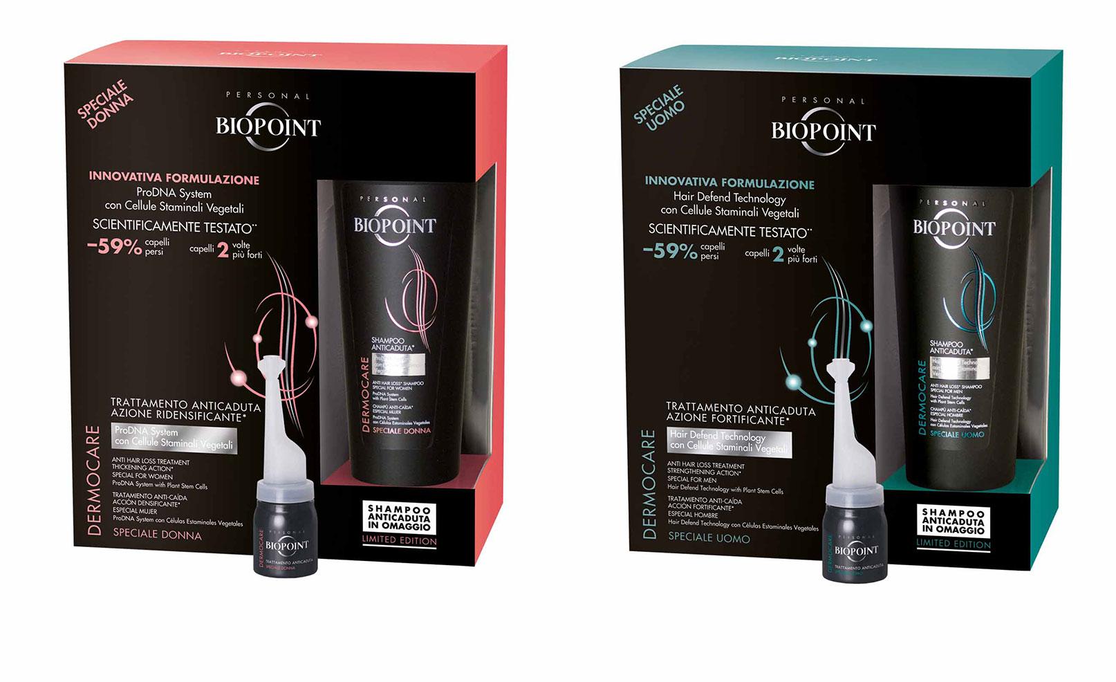 In arrivo la limited edition dedicata all innovativo programma Anticaduta  Biopoint alle cellule staminali. ad256cdc0f37