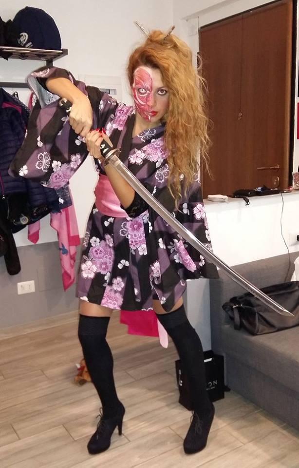 2015 10 31 horror halloween night monster japan geisha outfit cosplay