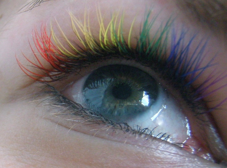2016 05 20 ciglia arcobaleno raimbow lashes