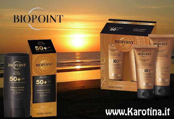 2016 08 05 biopoint vetrina estate kit viaggio solari stick 50