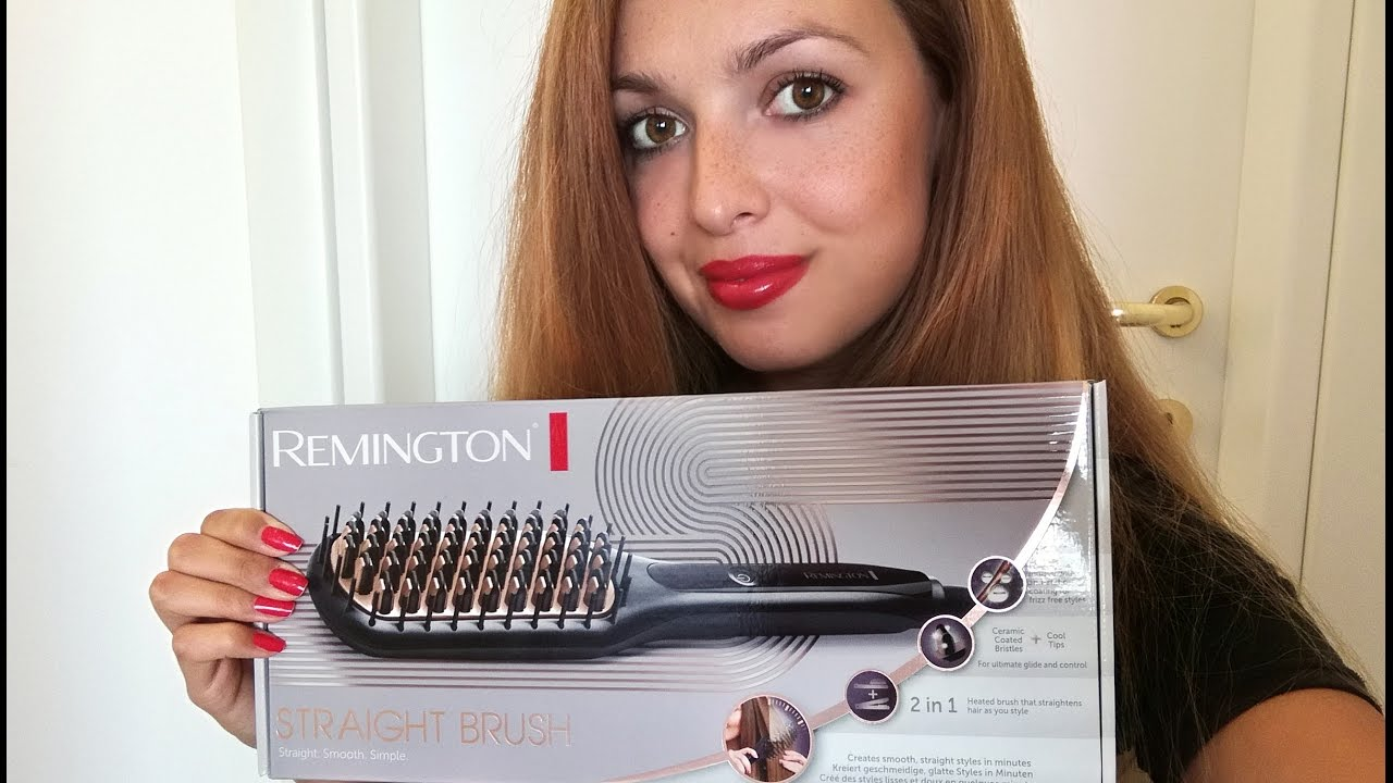 2016 10 24 spazzola lisciante Straight Brush remington karotina review recensione
