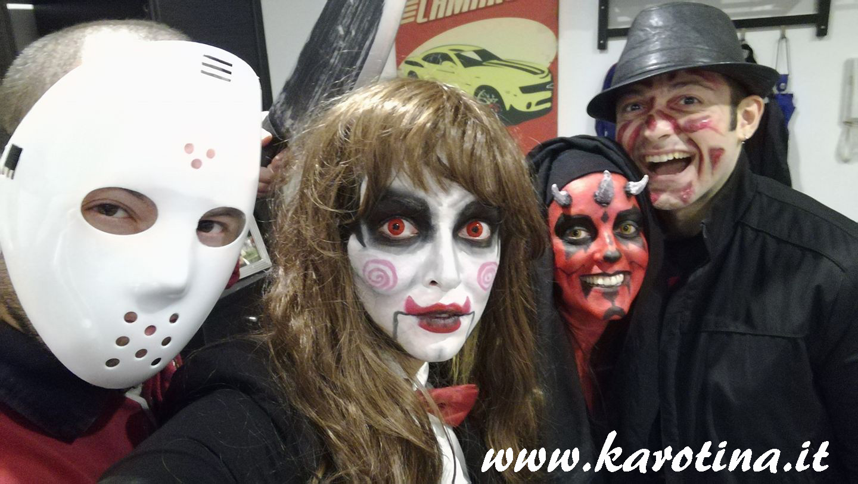 2016 11 01 halloween 2016 saw darth maul freddy jason karotina makeup