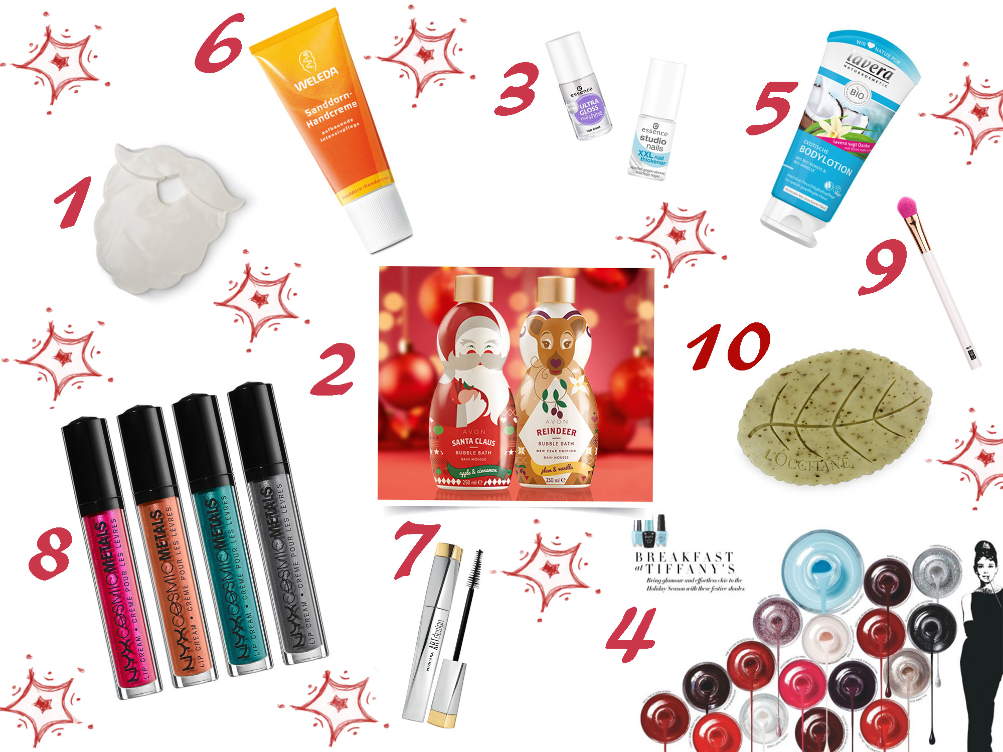 2016 12 14 vetrina natale pensierini regali beauty blog karotina low cost