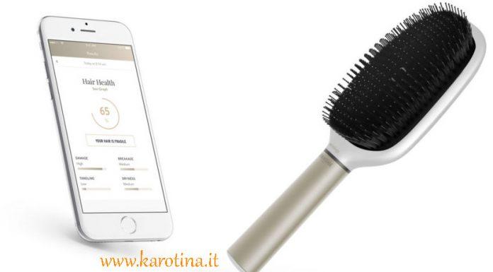 2017 01 27 nuova spazzola Kerastase smart analisi capelli app hair coach