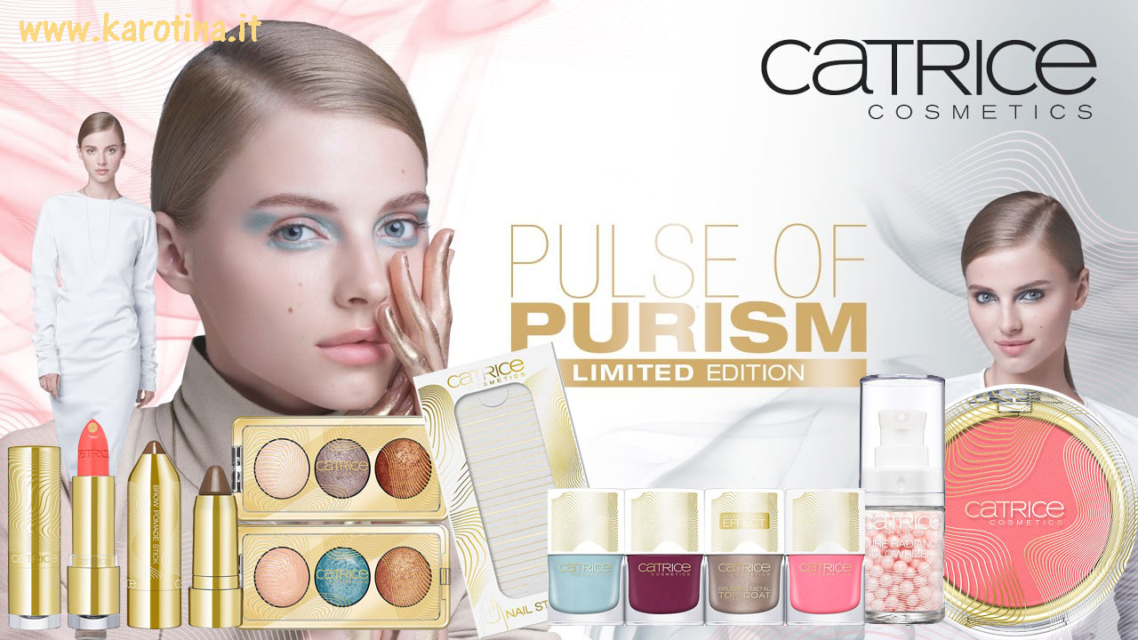 2017 02 16 vetrina beauty catrice Limited Edition primavera Pulse of Purism