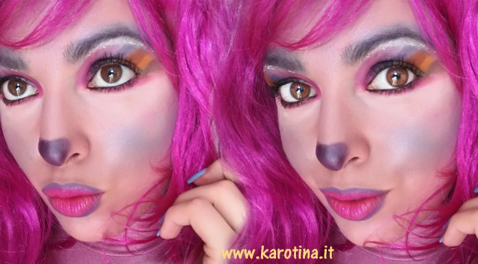 2017 02 23 unicorn rainbow tutorial make up carnevale unicorno trucco
