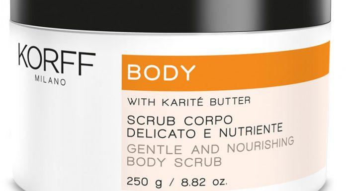 2017 03 22 scrub corpo delicato e nutriente korff vetrina karotina prodotto body care