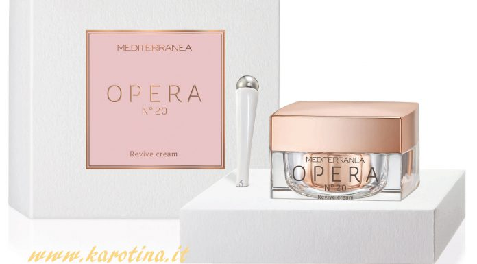 2017 03 24 mediterranea cosmetics OPERA n 20 crema viso mediterranea20 20 anni karotina vetrina news