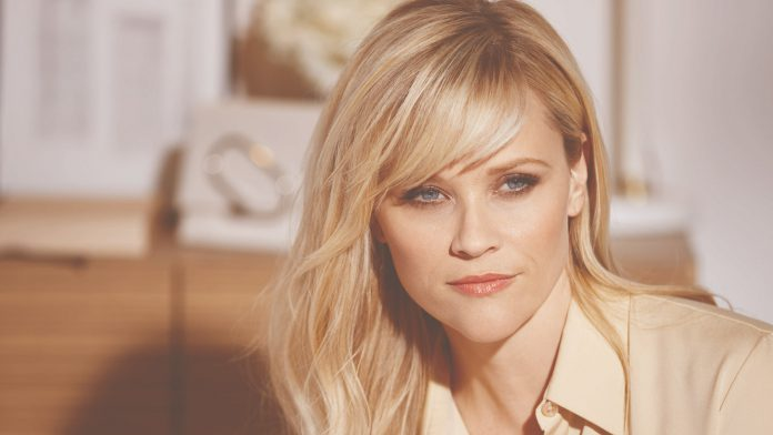 2017 03 31 Reese Witherspoon for Elizabeth Arden BTS for Wire